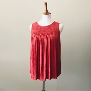 Anthropologie Dolan Accordion Blouse S
